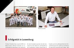 Presse-Beitrag: Erfolgreich in Luxembourg