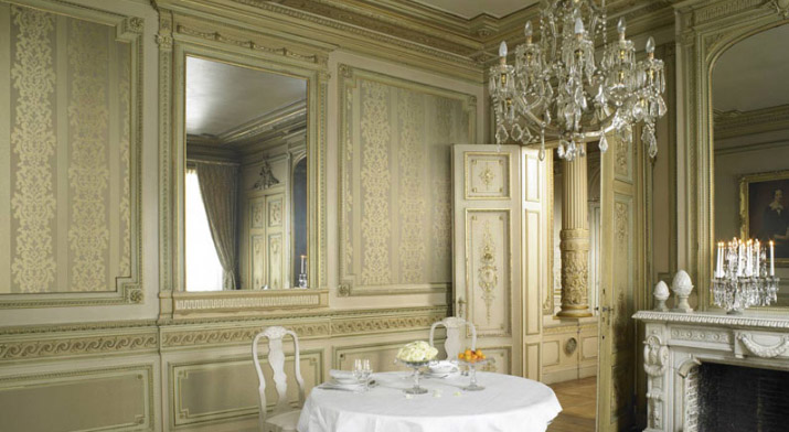 Beispielhafte Innenraumgestaltung von Omexco aus der Kollektion Dukes