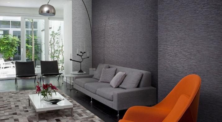 Beispielhafte Innenraumgestaltung von Omexco aus der Kollektion Fragment