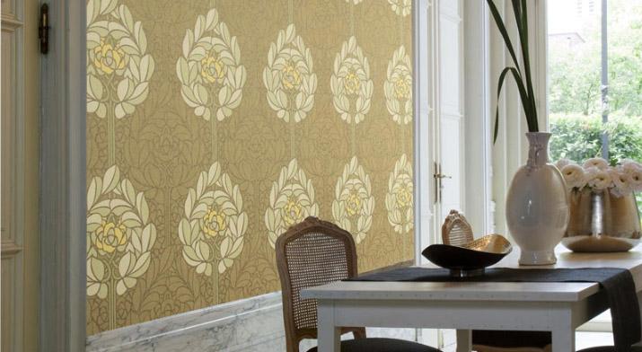 Beispielhafte Innenraumgestaltung von Omexco aus der Kollektion Lotus